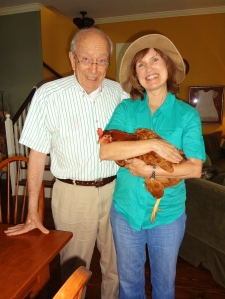 Rhoda's rescuers are Tom and Caroline.  He's a retired attorney and she a retired teacher with Montgomery magnet schools.