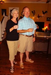 Brenda & Duncan--first timers!