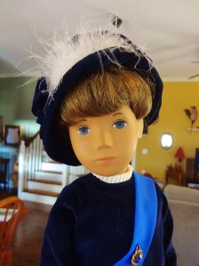 Prince Gregor, from the UK.  He's a Sasha doll.