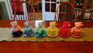 What, you don't put Beanie Babies in your Fiestaware?