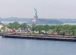 Au Revoir lady Liberty!