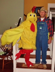 Farmer Jim & his Chick