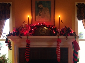 The decorated hearth