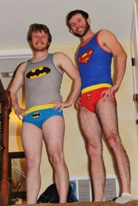 And two of them moonlight as Super Heroes!
