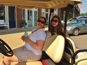 Golf cart tour