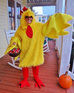 Lookin' good my little chicken!